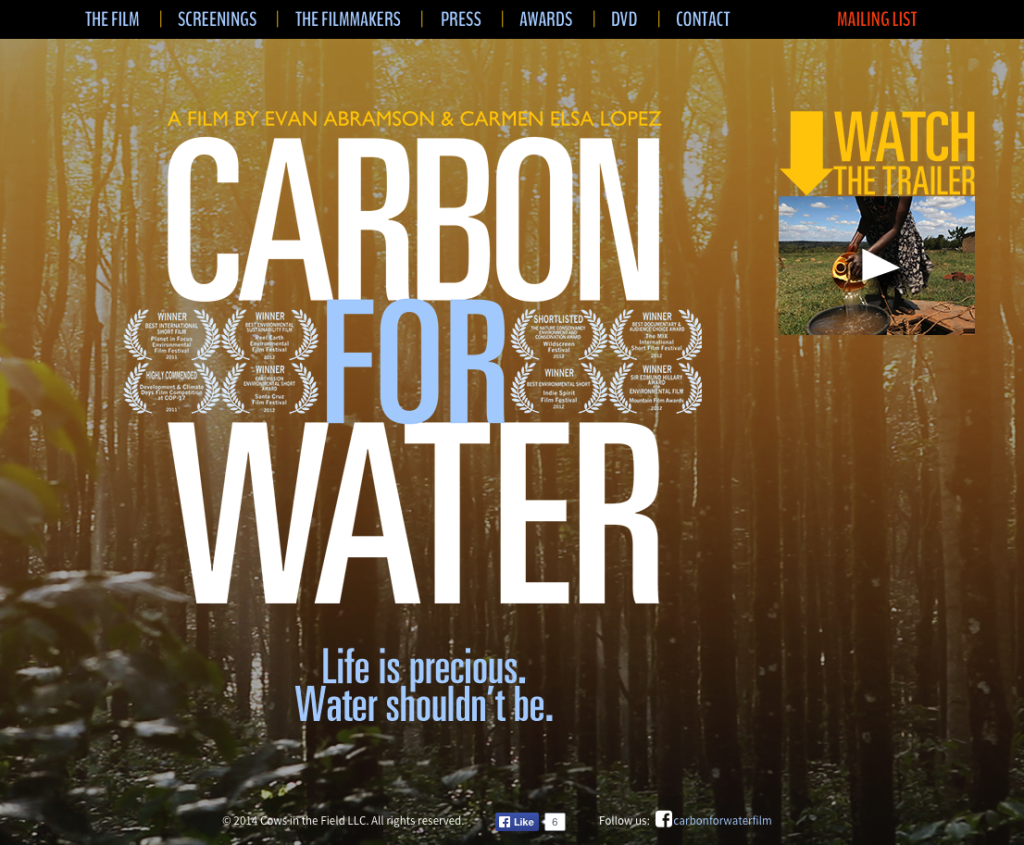 Carbon for Water | Life is Precious. Water Shouldn't Be.