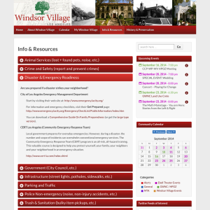Info & Resources | Windsor Village - Los Angeles, CA