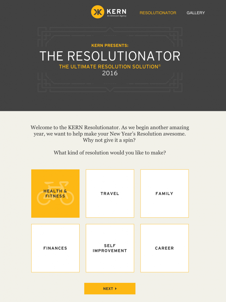 Kern Resolutionaltor